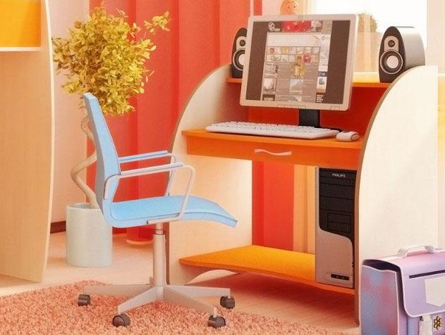 Стол компьютерный ника 3 (русская мебельная компания) - мебе.